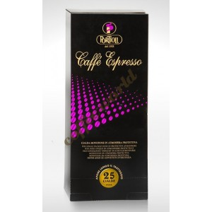 Portioli - Espresso, 25x χάρτινες ταμπλέτες καφέ