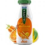 Χυμός  Skipper πορτοκάλι, καρότο, λεμόνι 100%, 200ml