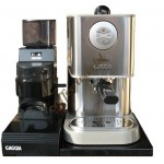 Set of Gaggia New Baby Class, Gaggia Grinder MDF and Universale