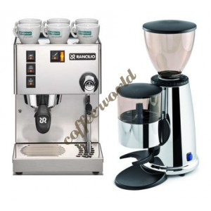 Rancilio Silvia New 2012 V3 and Macap M2 Doser Coffee Grinder +