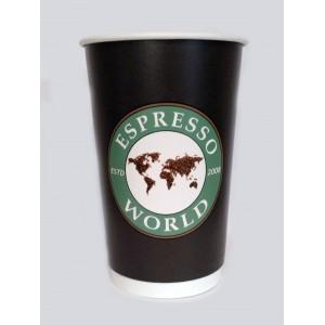 Χάρτινο διπλότοιχο ποτήρι χωρίς καπάκι 16οz - 1000τμχ