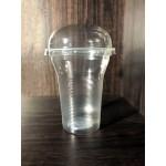 Πλαστικό ποτήρι με καπάκι 330ml - 1000 τμχ