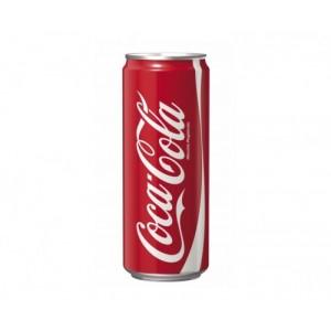 Coca Cola - κανονική με ζάχαρη 330ml