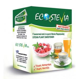 Ecostevia - 100% Φυσικό γλυκαντικό, 80 τεμ.