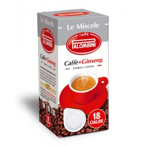 Palombini - Caffe + Ginseng, 18x χάρτινες ταμπλέτες καφέ
