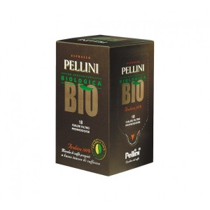 Pellini - Bio 100% Arabica,18 τμχ χάρτινες ταμπλέτες