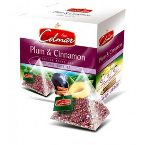 Celmar τσάι  ΔΑΜΑΣΚΗΝΟ ΚΑΝΕΛΑ (PLUM & CINNAMON) 20TMX