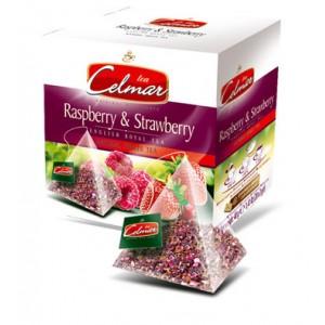 Celmar τσάι  RASPBERRY & STRAWBERRY 20TMX
