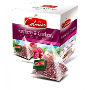 Celmar τσάι  RASPBERRY & CRANBERRY 20TMX
