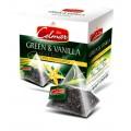 Celmar τσάι  ΠΡΑΣ. & ΒΑΝΙΛΙΑ(GREEN & VANILLA) 20 ΤΜΧ