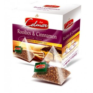 Celmar τσάι  ΡΟΟΙΜΠΟΣ ΚΑΝΕΛΑ (ROOIBOS & CINNAMON) 20TMX