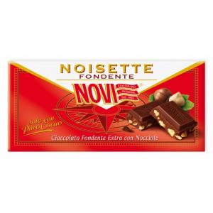 Novi - Έξτρα μαύρη σοκολάτα με κομμάτια φουντούκιων