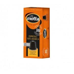 Caffe Motta - Espresso 100% Arabica, 10x nespresso συμβατές