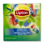 Lipton - Green Tea Goji & Blueberry, 20τμχ