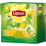 Lipton - Green Tea Lemon & Melissa, 20τμχ