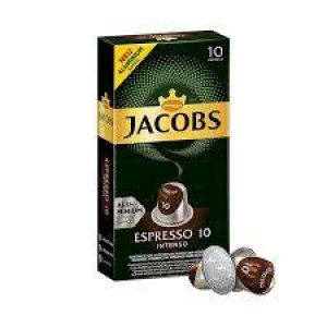 Jacobs - Intenso, 10x nespresso συμβατές κάψουλες