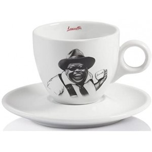 Lucaffe - Cappuccino Cup with Saucer Mr. Exclusive