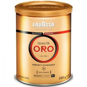 Lavazza - Qualita Oro Tin Box, 250gr αλεσμένος