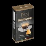 Neronobile - Qualita Oro, 10x nespresso συμβατές κάψουλες